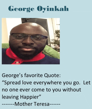 Homewatch caregiver employee of the month George